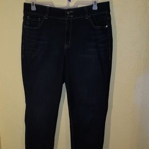 Lane Bryant high-rise skinny jeans